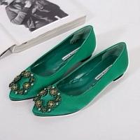 Manolo Blahnik Flat Shoes For Women #281356