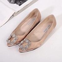 Manolo Blahnik Flat Shoes For Women #281360