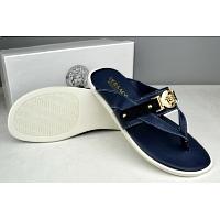 Cheap Versace Slippers For Men #287842 Replica Wholesale [$42.80 USD] [W-287842] on Replica Versace Slippers