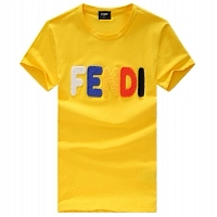 Fendi T-Shirt Short Sleeved For Men #288464