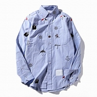 Thom Browne TB Shirts Long Sleeved For Men #290252