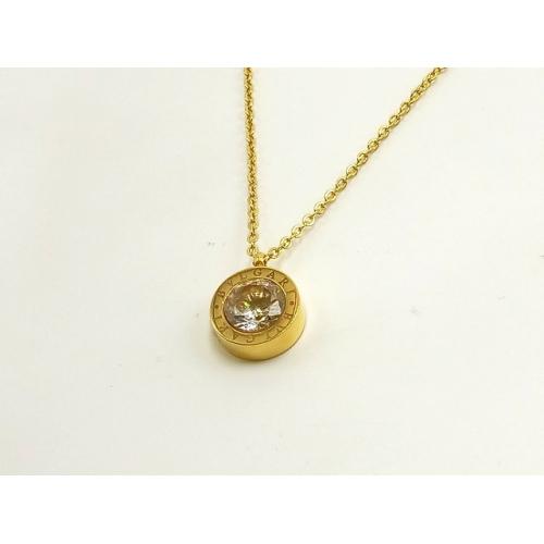 Cheap Bvlgari Necklaces #295985 Replica Wholesale [$15.50 USD] [W-295985] on Replica Bvlgari Necklaces