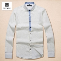 Givenchy Fashion Shirts Long Sleeved For Men #294589
