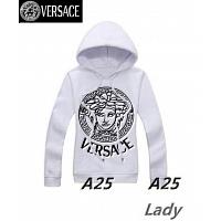 Versace Hoodies Long Sleeved For Women #297556