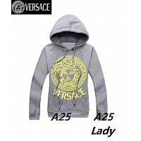 Versace Hoodies Long Sleeved For Women #297566