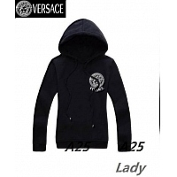 Versace Hoodies Long Sleeved For Women #297576