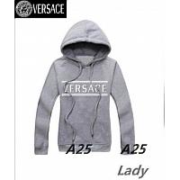 Versace Hoodies Long Sleeved For Women #297588