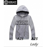 Versace Hoodies Long Sleeved For Women #297593