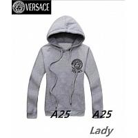 Versace Hoodies Long Sleeved For Women #297602