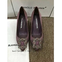 Manolo Blahnik High-Heeled Shoes For Women #307405