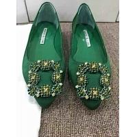 Manolo Blahnik Flat Shoes For Women #307410