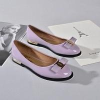 Salvatore Ferragamo SF Flat Shoes For Women #309536
