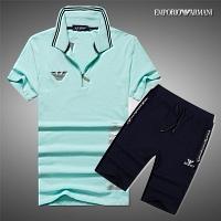 Armani Tracksuits Short Sleeved For Men #309970
