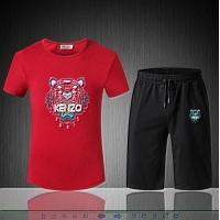 Kenzo Tracksuits Short Sleeved For Men #310443