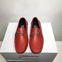 Salvatore Ferragamo SF Leather Shoes For Men #311404