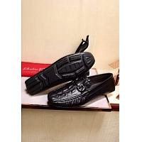 Salvatore Ferragamo SF Leather Shoes For Men #313782