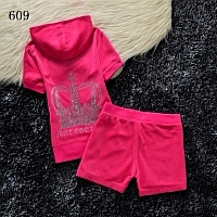 Juicy Couture Tracksuits Short Sleeved For Women #320321