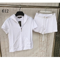 Juicy Couture Tracksuits Short Sleeved For Women #320322