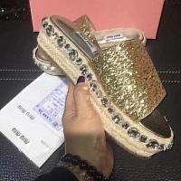 MIU MIU Slippers For Women #320894
