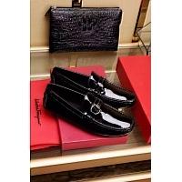 Salvatore Ferragamo SF Leather Shoes For Men #325338