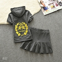 Juicy Couture Tracksuits Short Sleeved For Women #332076