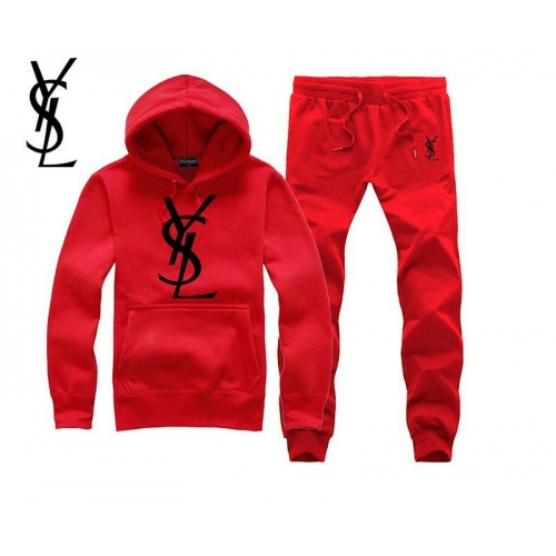 Cheap Yves Saint Laurent YSL Tracksuits Long Sleeved For Men #343849 Replica Wholesale [$54.00 USD] [W-343849] on Replica Yves Saint Laurent YSL Tracksuits