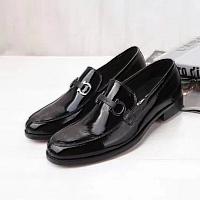 Salvatore Ferragamo SF Leather Shoes For Men #339740