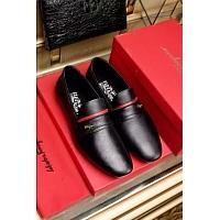 Salvatore Ferragamo SF Leather Shoes For Men #339793