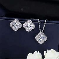 Van Cleef & Arpels Quality Necklace & Earrings #343300