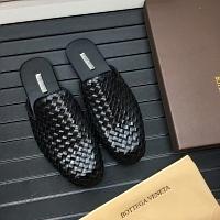 Bottega Veneta BV Leather Slippers For Men #343696