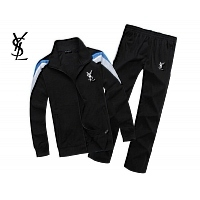 Yves Saint Laurent YSL Tracksuits Long Sleeved For Men #343893
