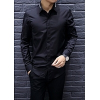 Armani Shirts Long Sleeved For Men #347738