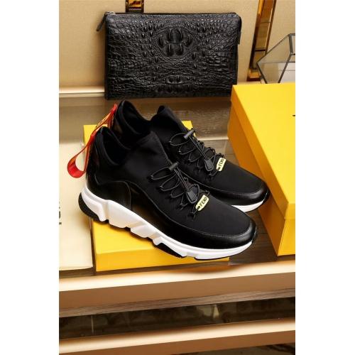 Cheap Fendi Casual Shoes For Men #353801 Replica Wholesale [$81.00 USD] [W-353801] on Replica Fendi Casual Shoes