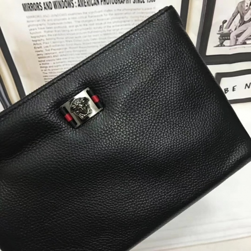 Cheap Versace Quality Wallets For Men #356660 Replica Wholesale [$56.00 USD] [W-356660] on Replica Versace AAA Man Wallets