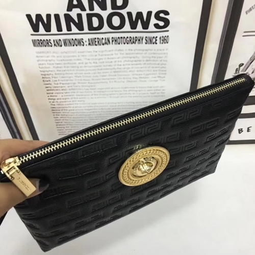 Cheap Versace Quality Wallets For Men #356661 Replica Wholesale [$56.00 USD] [W-356661] on Replica Versace AAA Man Wallets