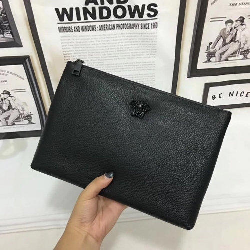 Cheap Versace Quality Wallets For Men #356666 Replica Wholesale [$56.00 USD] [W-356666] on Replica Versace AAA Man Wallets