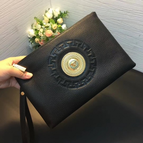 Cheap Versace Quality Wallets For Men #356668 Replica Wholesale [$56.00 USD] [W-356668] on Replica Versace AAA Man Wallets