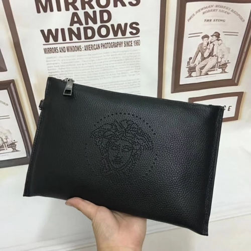 Cheap Versace Quality Wallets For Men #356671 Replica Wholesale [$58.00 USD] [W-356671] on Replica Versace AAA Man Wallets