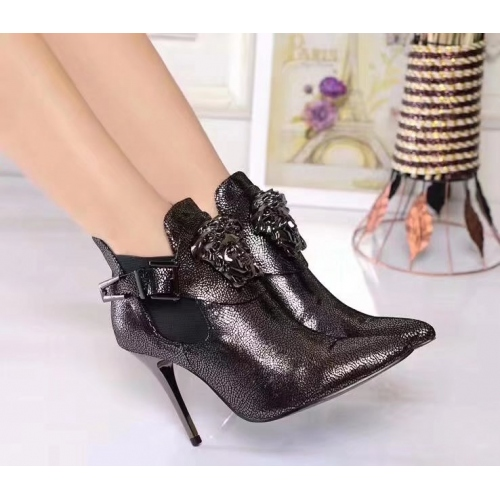 Cheap Versace Fashion Boots For Women #357370 Replica Wholesale [$85.00 USD] [W-357370] on Replica Versace Boots