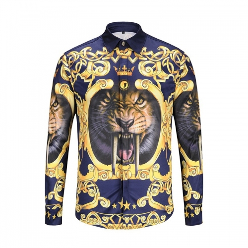 Cheap Versace Shirts Long Sleeved For Men #358592 Replica Wholesale [$37.90 USD] [W-358592] on Replica Versace Shirts