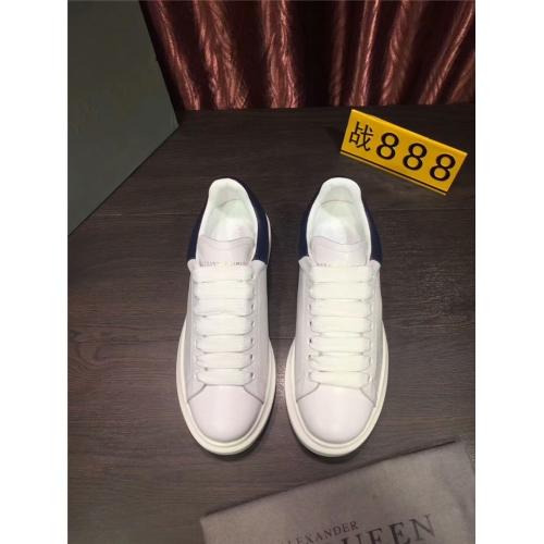 Cheap Alexander McQueen Shoes For Men #361641 Replica Wholesale [$85.00 USD] [W-361641] on Replica Alexander McQueen Shoes