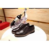 Salvatore Ferragamo SF Leather Shoes For Men #356328