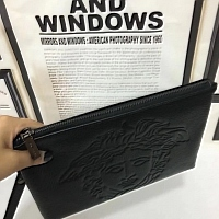 Cheap Versace Quality Wallets For Men #356662 Replica Wholesale [$56.00 USD] [W-356662] on Replica Versace AAA Man Wallets