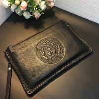 Cheap Versace Quality Wallets For Men #356669 Replica Wholesale [$58.00 USD] [W-356669] on Replica Versace AAA Man Wallets