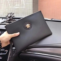 Cheap Versace Quality Wallets For Men #356675 Replica Wholesale [$60.00 USD] [W-356675] on Replica Versace AAA Man Wallets