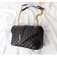 Cheap Yves Saint Laurent YSL AAA Messenger Bags #357895 Replica Wholesale [$107.80 USD] [W-357895] on Replica Yves Saint Laurent YSL AAA Messenger Bags