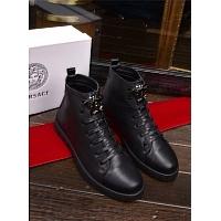 Cheap Versace Fashion Boots For Men #361117 Replica Wholesale [$92.00 USD] [W-361117] on Replica Versace Boots