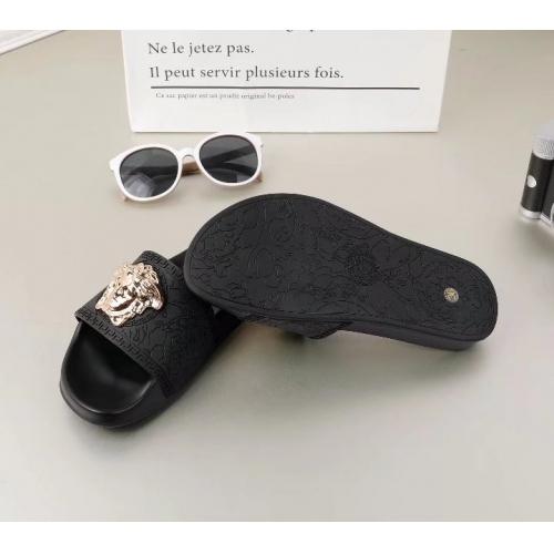 Cheap Versace Slippers For Men #365640 Replica Wholesale [$42.50 USD] [W-365640] on Replica Versace Slippers