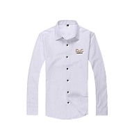 Dolce & Gabbana D&G Shirts Long Sleeved For Men #367499