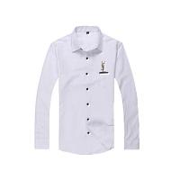 Yves Saint Laurent YSL Shirts Long Sleeved For Men #367523